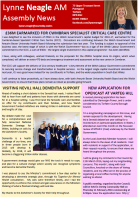 Lynne's Newsletter - January 2016