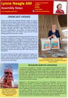 Lynne's Newsletter - July 2015