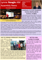 Lynne's Newsletter - October 2015